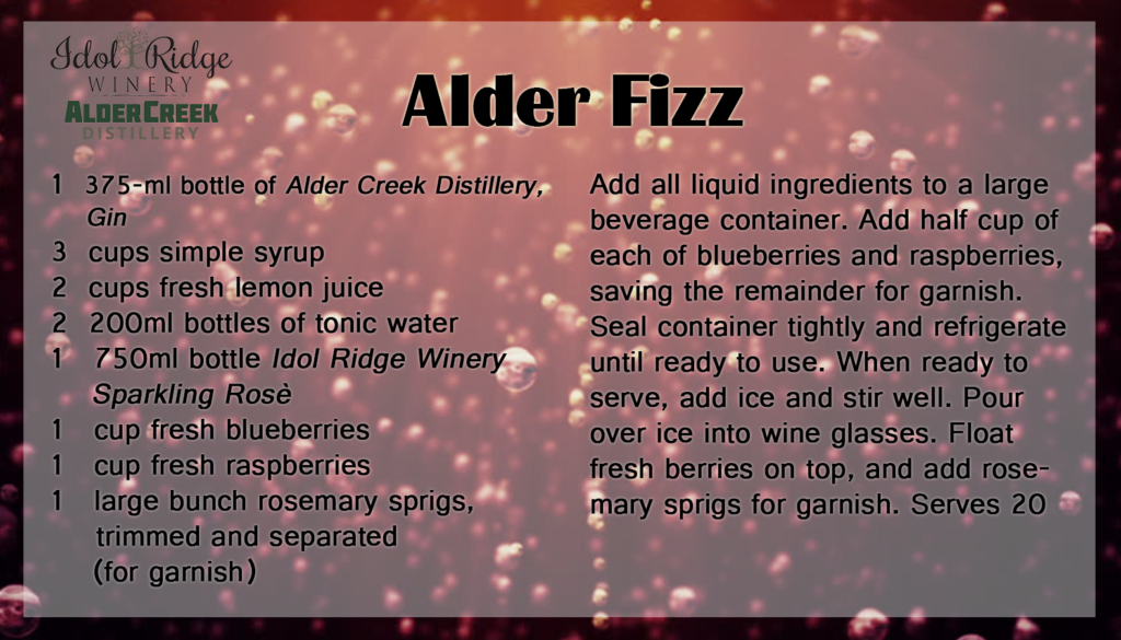 Alder Fizz Recipe