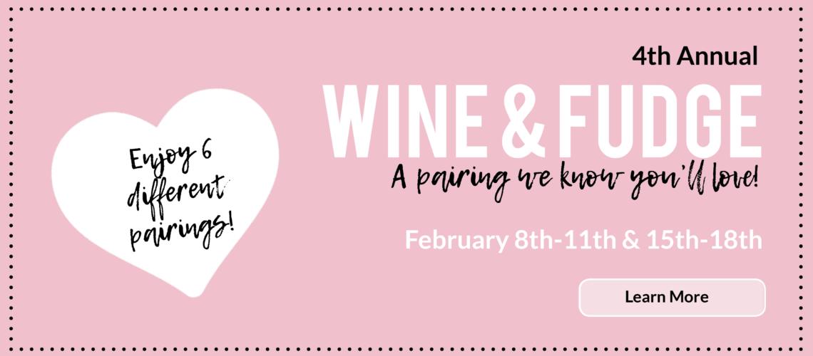 Wine & Fudge Pairings