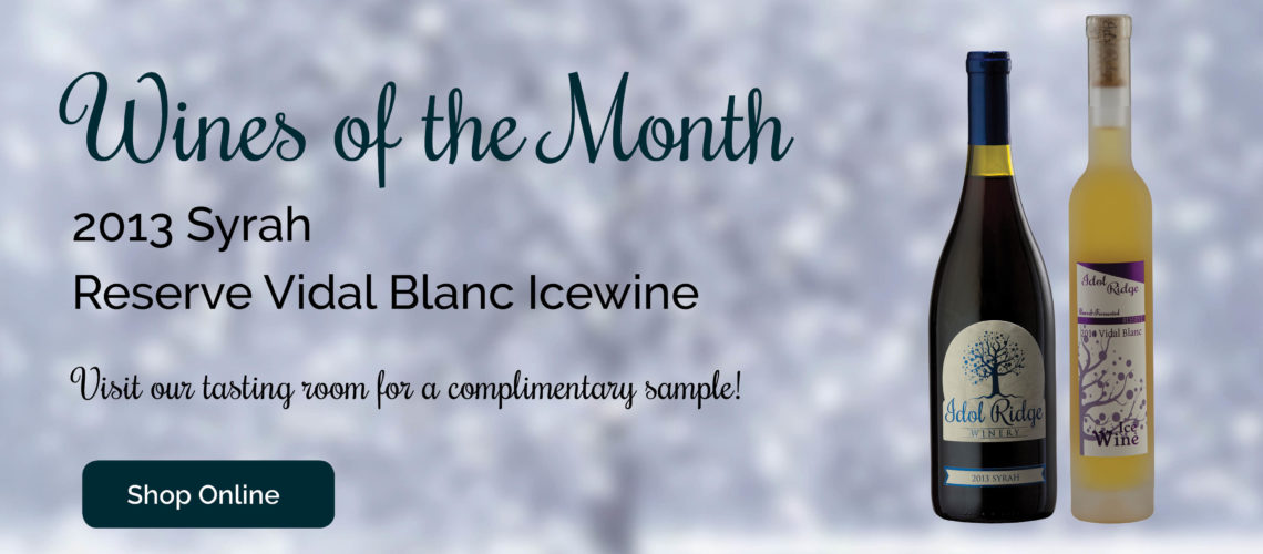 January Wines of the Month