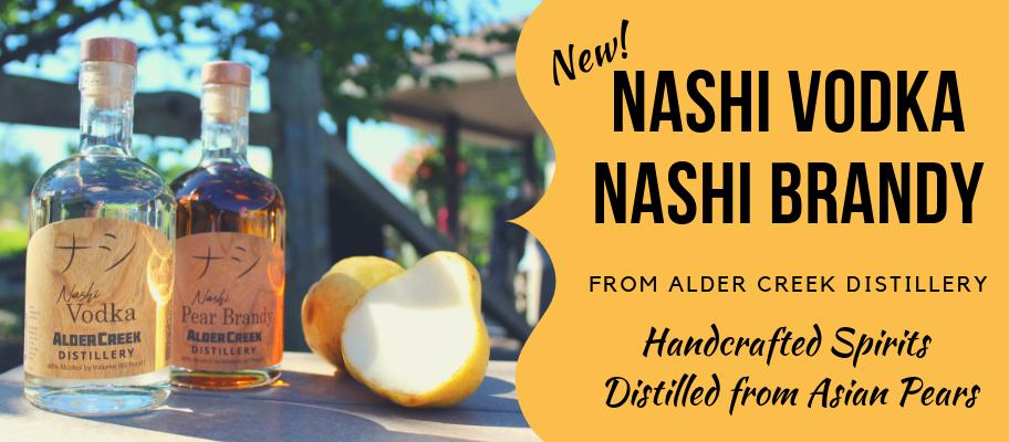 Nashi Vodka & Brandy