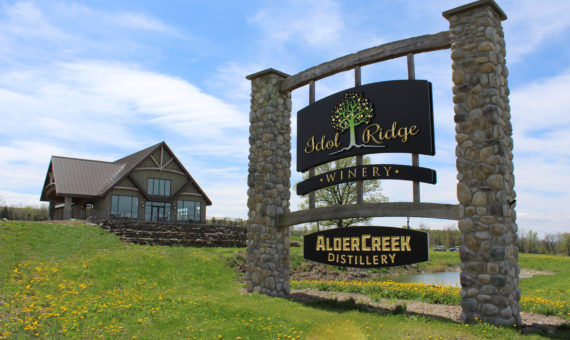 Idol Ridge Winery & Alder Creek Distillery