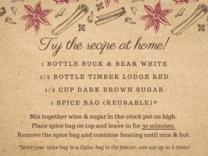 Mulled Wine Recipe Card 2